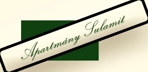 logo Apartmány Sulamit